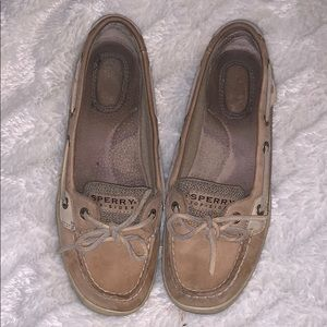 Sperry Topslider Anglefish Boat Shoes Size 7